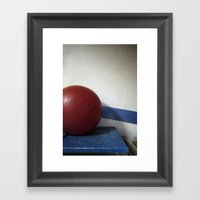 Buoy Pattern Framed Art Print