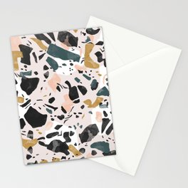 Abstract terrazzo 02 Stationery Cards