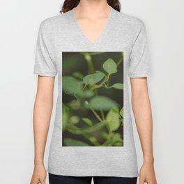 Floral Leaf 02 | Nature Photography Unisex V-Neck