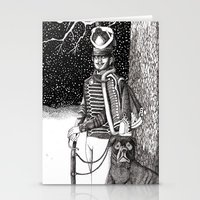 soldier Stationery Cards featuring Soldier by Thom Deer