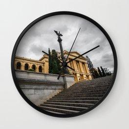Ipiranga Museum, Sao Paulo - Brazil Wall Clock