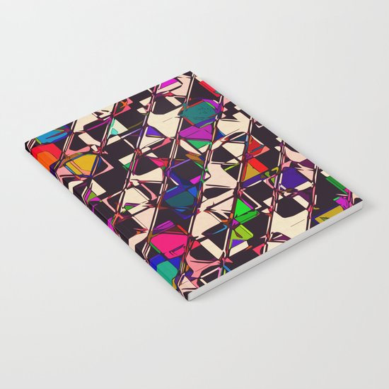 Pitter Patter Prism Notebook