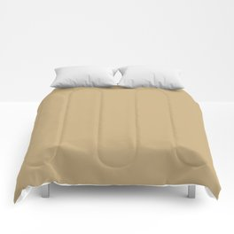 Light French Beige - solid color Comforters