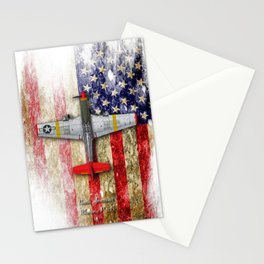 North American Mustang P-51B Stationery Cards
