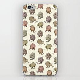 Hungry Kiwis – Cool Earth Tones iPhone Skin