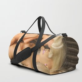 Girls in bed Duffle Bag