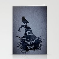 witch Stationery Cards featuring witch by Erdogan Ulker