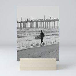 Huntington Beach Pier Mini Art Print