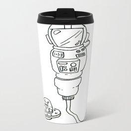 Space Sperm Metal Travel Mug