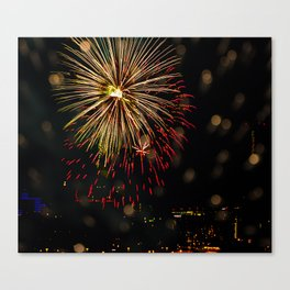 Firework collection 7 Canvas Print
