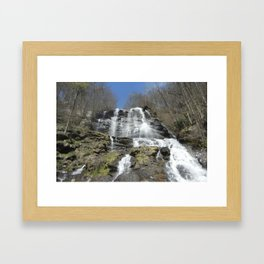 Waterfall allure Framed Art Print