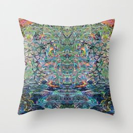 Mind Bender Throw Pillow
