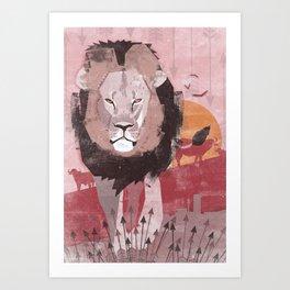 Cecil the Lion  Art Print