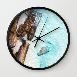 Crystal Clear 11 Mile Lagoon Esperance (01) Wall Clock