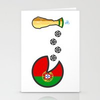 portugal Stationery Cards featuring Portugal by onejyoo