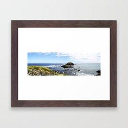 Phillip Island View. Framed Art Print