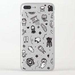 Uncommon Neighbors Clear iPhone Case