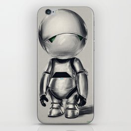 Marvin the Android iPhone Skin