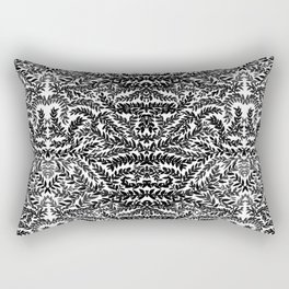 Gothic laurel pattern  Rectangular Pillow