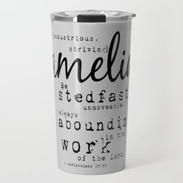 Amelia {striving} Travel Mug
