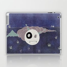 Toothworm by night Laptop & iPad Skin