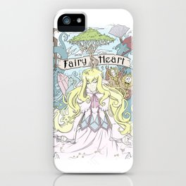 Mavis - The Fairy Heart iPhone Case