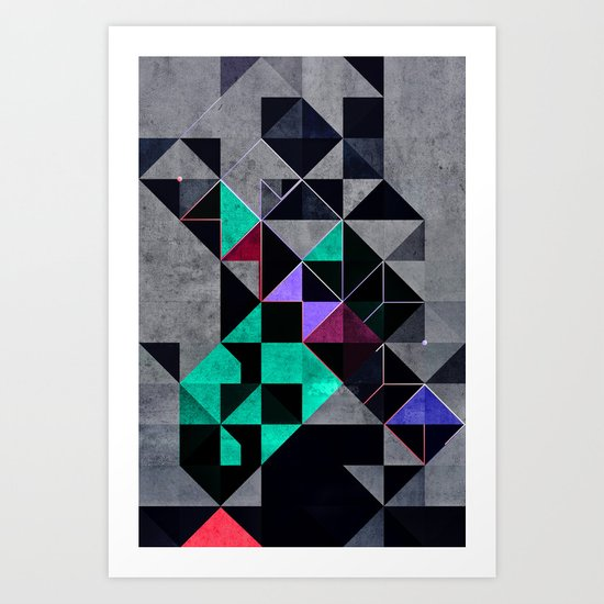 irony analyg Art Print