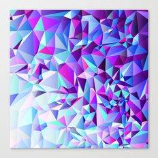PURPLE+TEAL Canvas Print