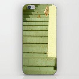 take-out menu iPhone Skin