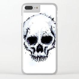 Murder Skull Clear iPhone Case