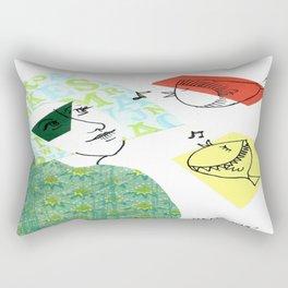 birdsong Rectangular Pillow
