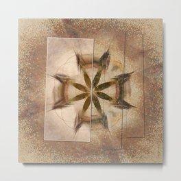 Romyko Impression Flower  ID:16165-085322-56301 Metal Print