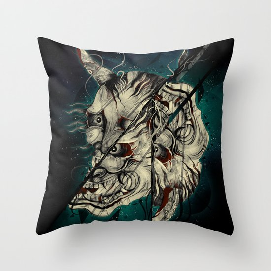 The Hanyas Throw Pillow