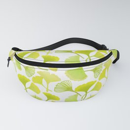 First Day of Autumn Ginkgo Leaves Fanny Pack
