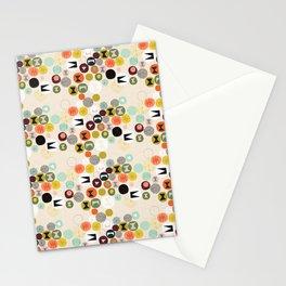 NOM NOM bright Stationery Cards