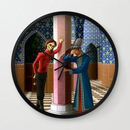 Erik gives the Daroga a hard time Wall Clock