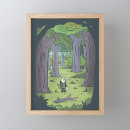 In the Forest Framed Mini Art Print