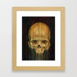 Skull Study No 1 Framed Art Print