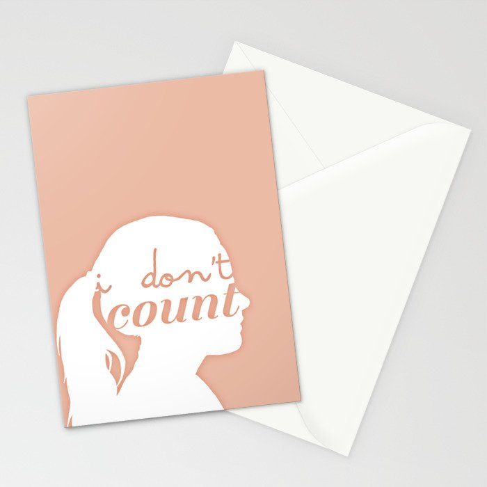 I don't count Stationery Cards