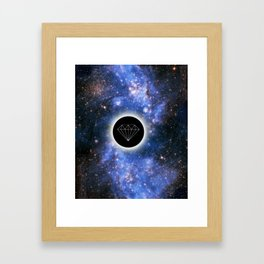 space amazing swag Framed Art Print