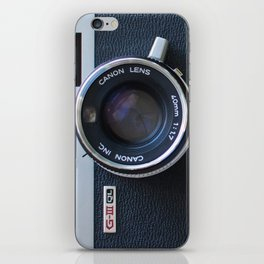 Canon GIII QL Vintage Camera iPhone Skin