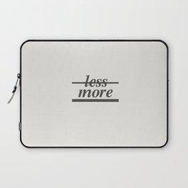 Typography Laptop Sleeve