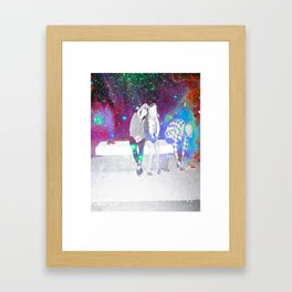 lost souls Framed Art Print