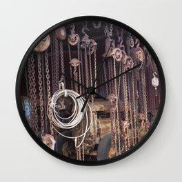 Endless Chains are always endless Wall Clock
