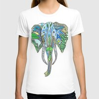 tatoo T-shirts featuring Tatoo Elephant by PepperDsArt