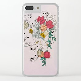 Midnight in the Garden Clear iPhone Case