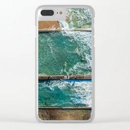 Ocean Pool at Austinmer Clear iPhone Case