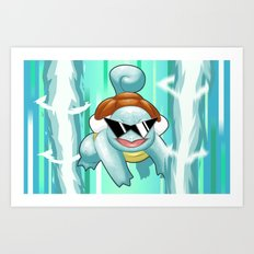 Squirtle Squad Art Print