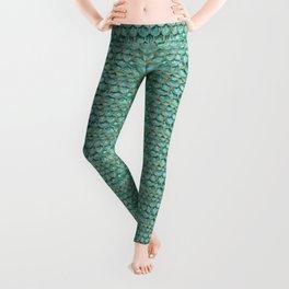 Emerald Mermaid Skin Leggings