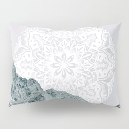 Ice Tipped Mountains Pillow Sham